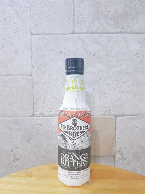 Bitter GIN BAREL-AGED ORANGE Fee Brothers
